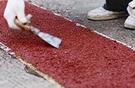 彩色路面胶施工案例