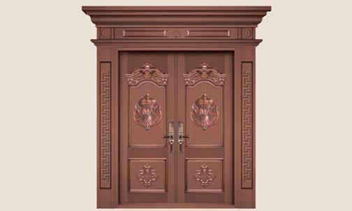 小编教大家分辨铜门与仿铜门的区别