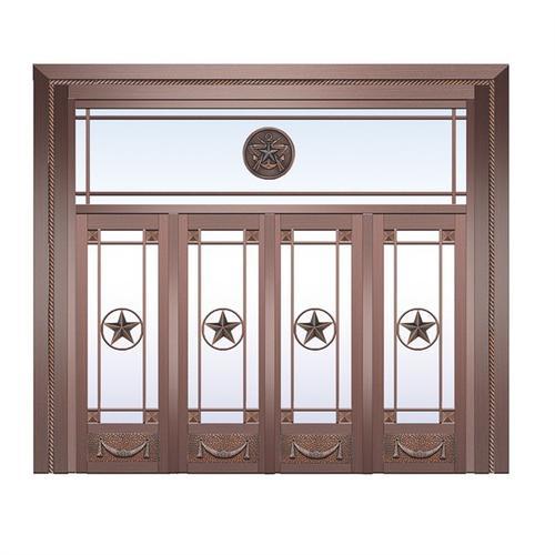 讲解一下铜门的日常保养与维护