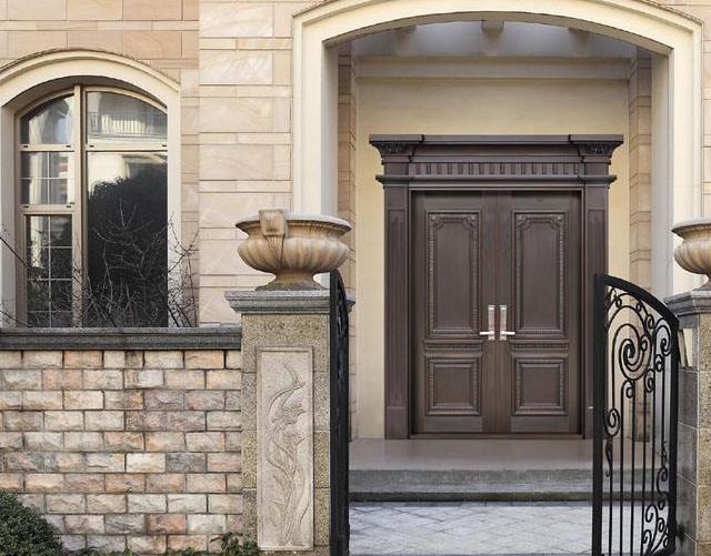 铜门安装时的八大注意事项