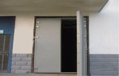 防爆门安设要求及断面面积