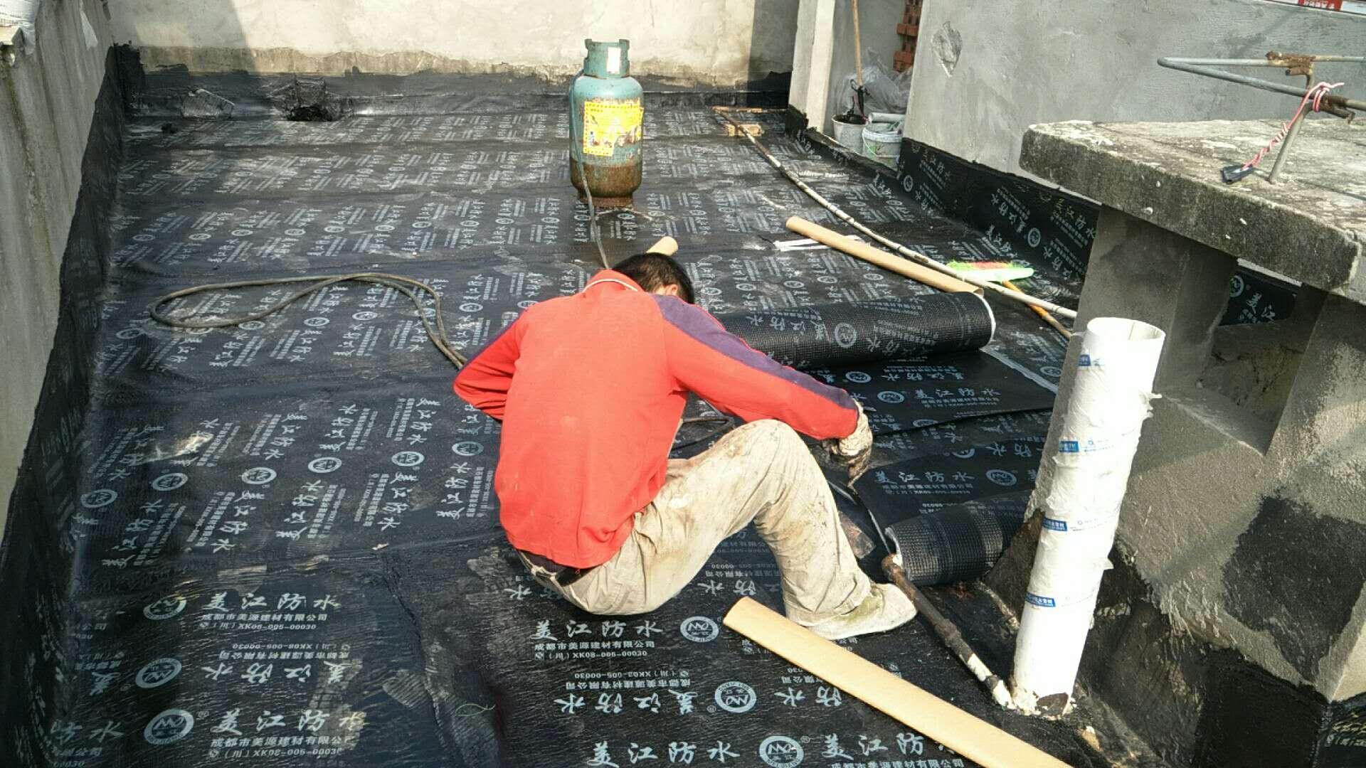 回兴洋房屋面防水施工