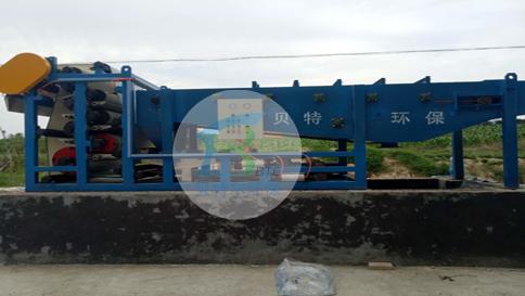 洗沙汙水處理成套設備發貨