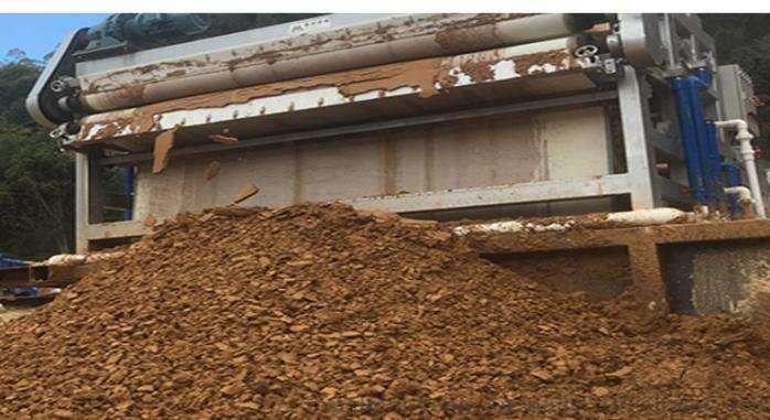 洗沙泥浆脱水设备