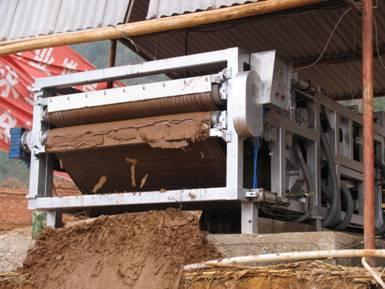 洗砂污泥脱水机