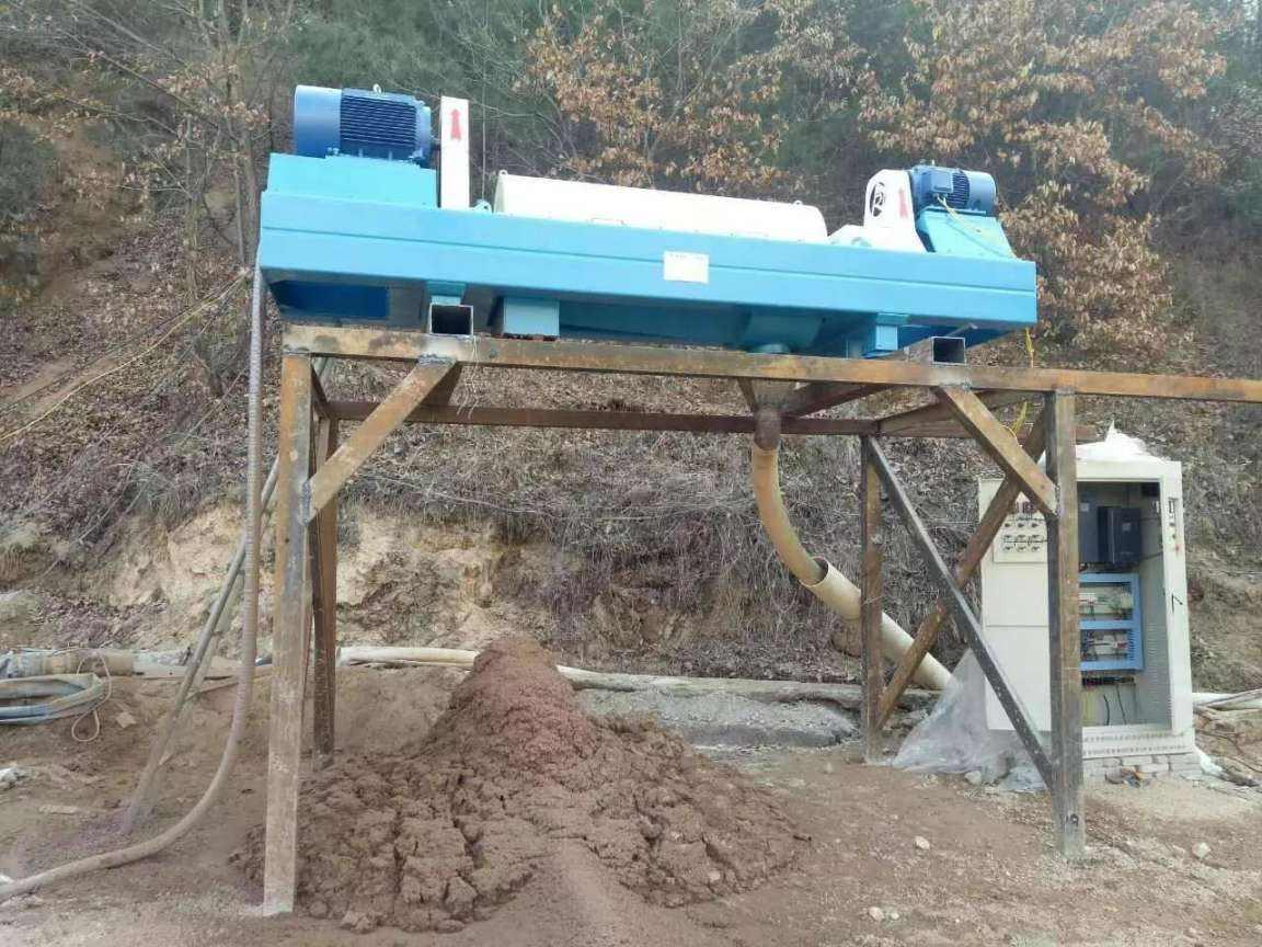 洗沙泥浆脱水处理设备