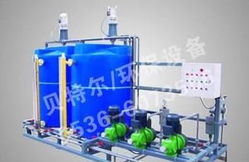 一体化工业污水处理设备运行中加药的技巧