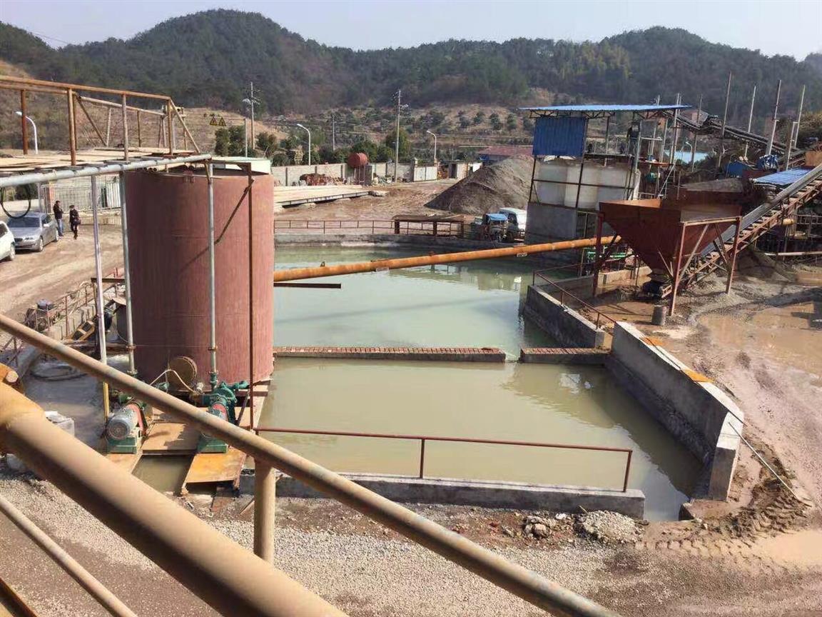 新型洗沙场泥浆污水的处理方法