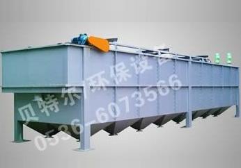 平流式气浮沉淀一体机的主要工作原理以及适应范围