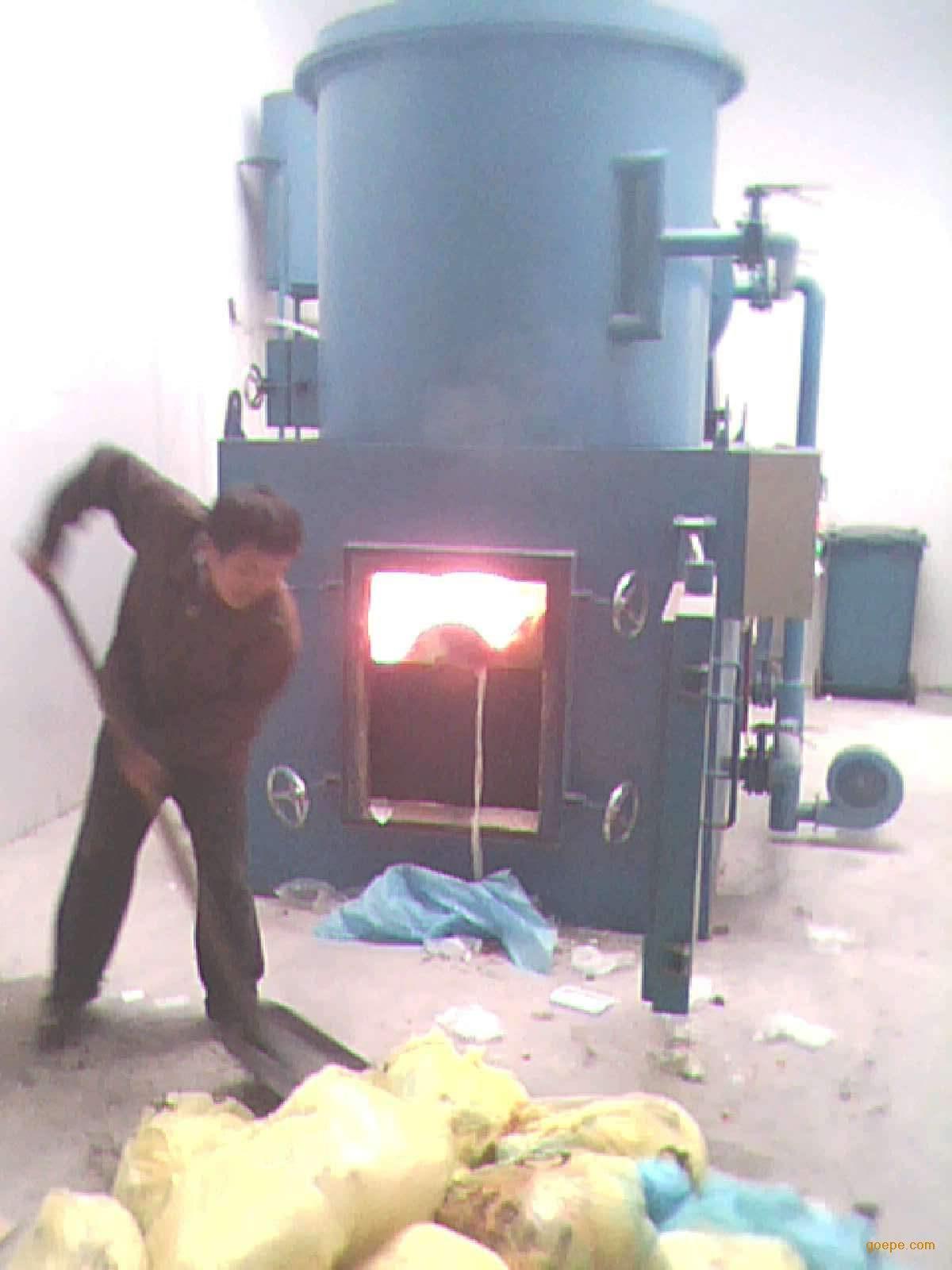 医疗垃圾焚烧炉由四大系统组成