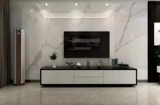 用陶瓷大板做电视背景墙应注意的事项!