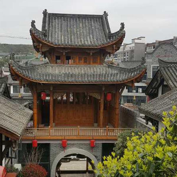 贵州古建筑木材加工