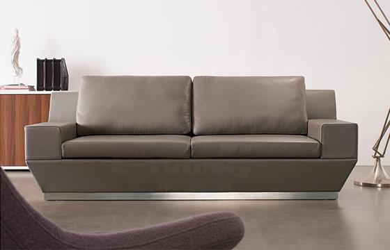 办公皮沙发-上海定制牛皮沙发-办公定制皮沙发