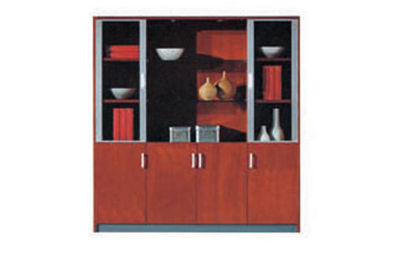 实木办公文件柜-文件柜厂家直销-定制商务实木柜