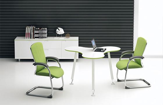 板式洽谈桌-办公室洽谈桌-洽谈桌