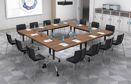 办公培训桌-公司职员培训桌-定制培训桌