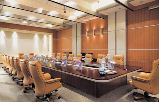 商务实木会议桌-定制会议桌厂家-办公会议桌