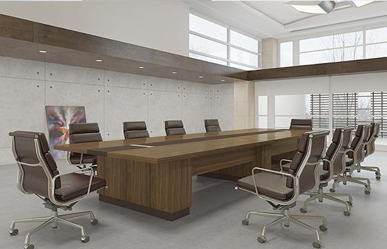 实木会议桌-定做会议桌-会议桌家具