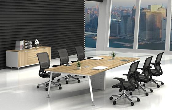 会议桌-板式会议桌生产-办公会议桌