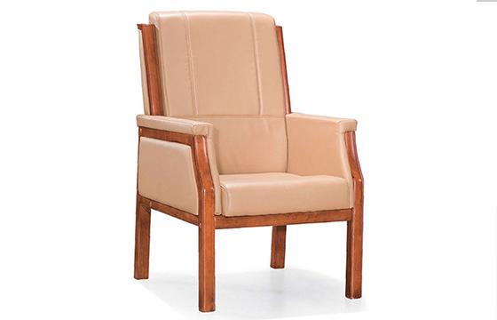 接待椅-实木会议椅-办公椅