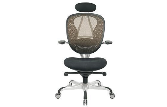 办公电脑椅-职员椅-旋转人体工学椅