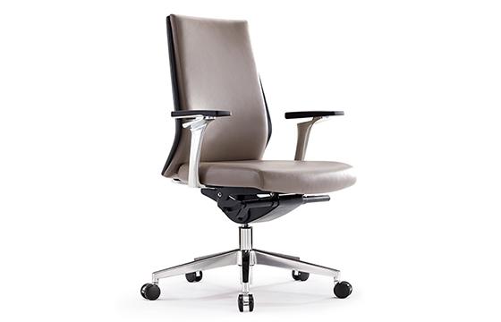 老板椅厂家-家具老板椅-牛皮椅