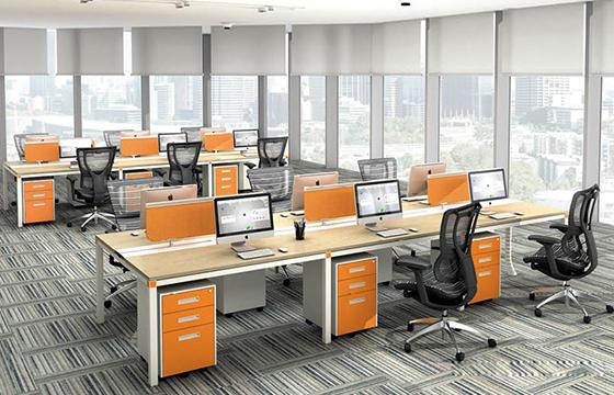 职员办公桌-定做工作位-屏风工作位