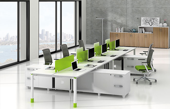 员工组合桌摆放-员工组合桌报价-员工组合桌