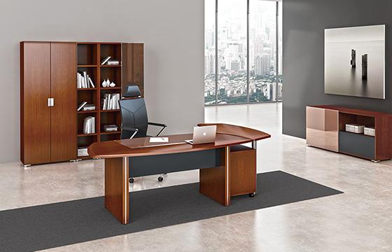 大班台-大班台定做-实木老板桌