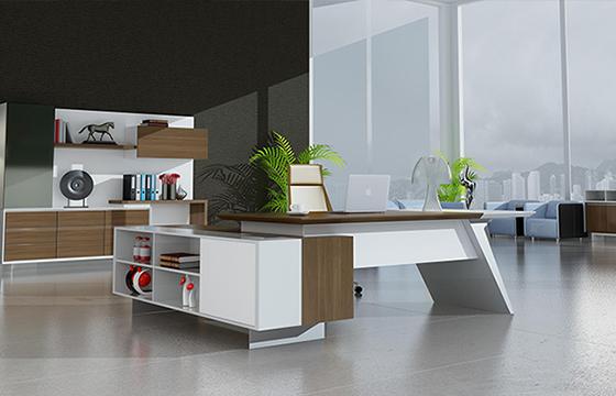 办公老板桌-实木大班台-大班台定做