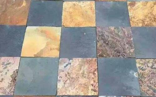 板岩的颜色与分布