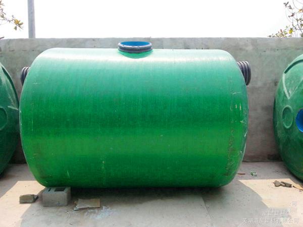 甘肃玻璃钢化粪池厂家告诉你如何安装玻璃钢化粪池比较妥当?