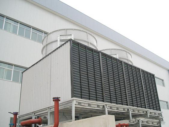 兰州玻璃钢横流冷却塔安装