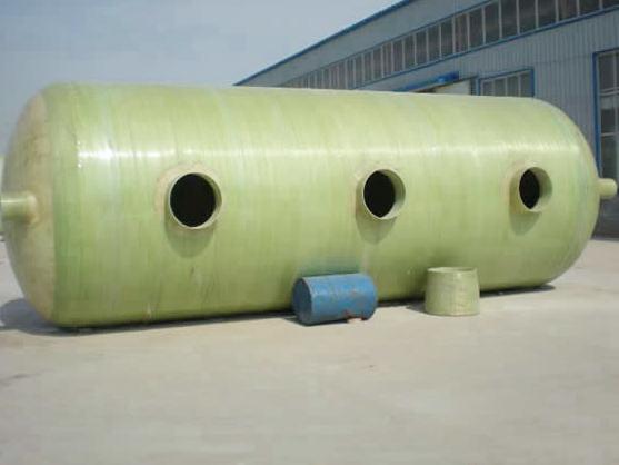 如何才能选择好的玻璃钢化粪池?兰州玻璃钢制品厂家为您分享