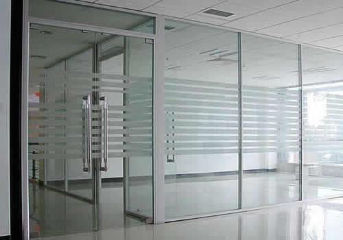 铝合金玻璃高隔间