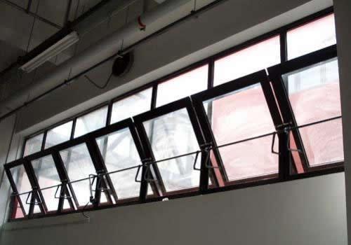 中悬型塑钢门窗