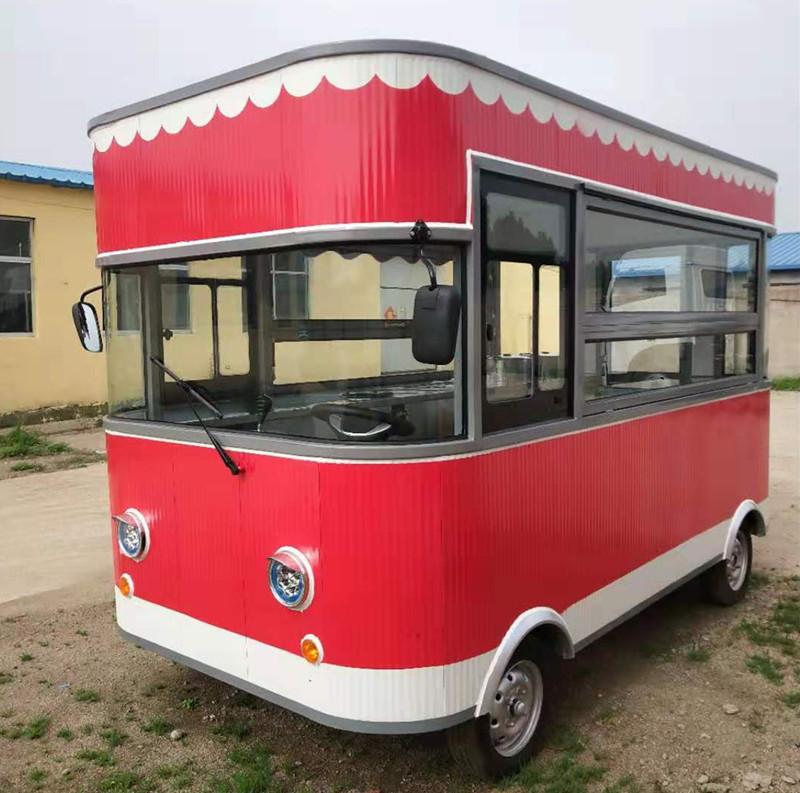 多功能电动餐车