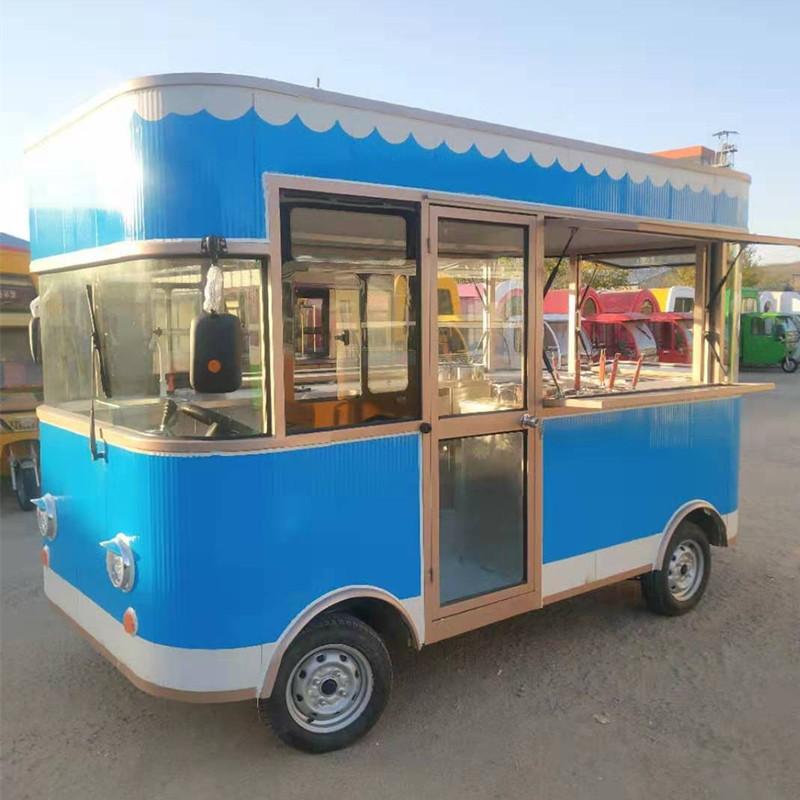纯电动移动餐饮车