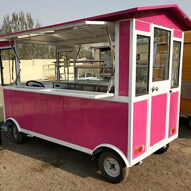 多功能电动餐饮车