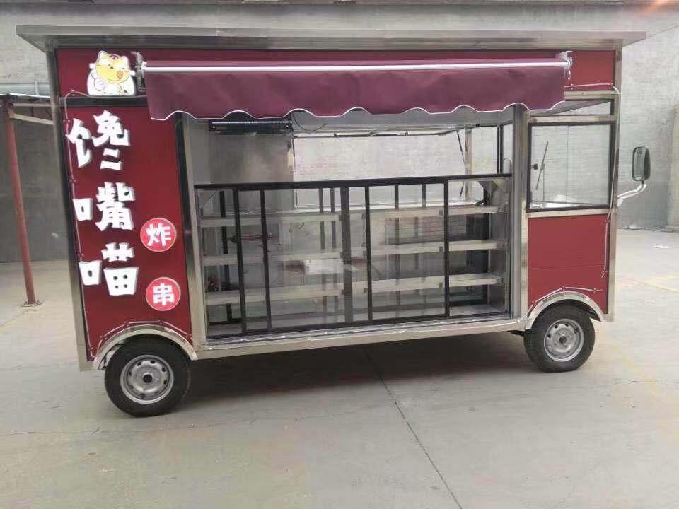 多功能餐饮车订制