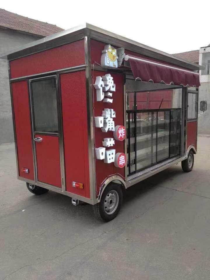 多功能餐饮车制作