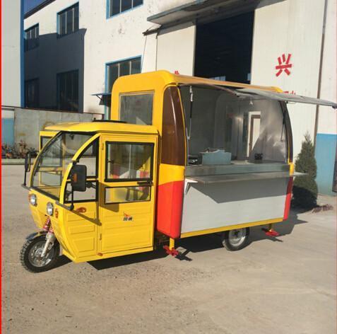 昆明阳光电动餐饮车制作的电动餐饮车有什么优势?