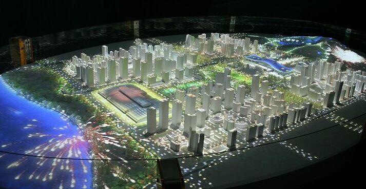 西安3d数字沙盘系统,展厅内最受欢迎的技术