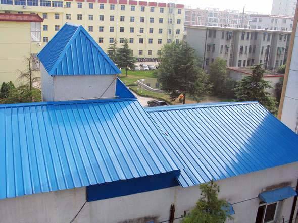 农房屋顶改造彩钢瓦
