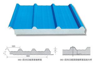 960 I型夹芯板屋面板