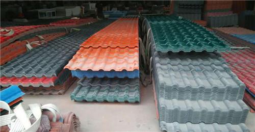 西藏合成树脂瓦厂家批发