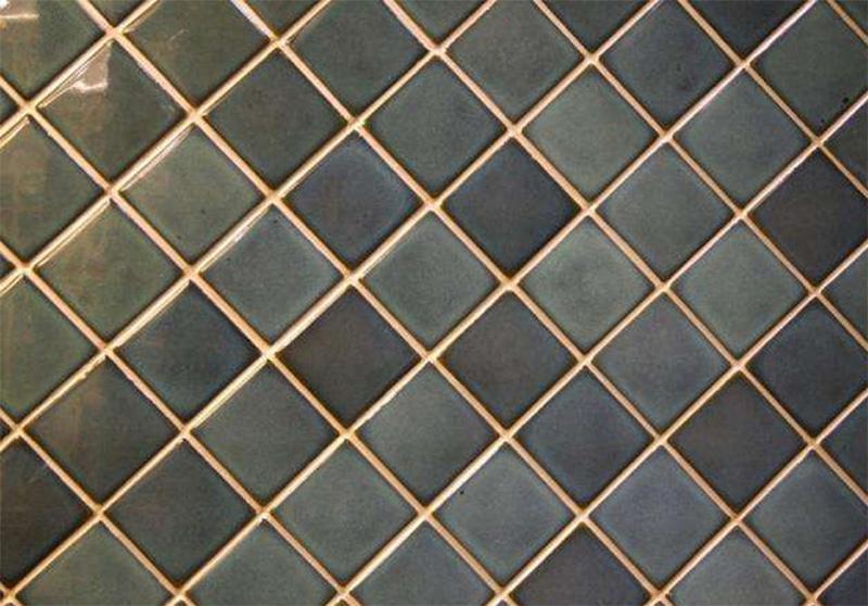 外墙瓷砖美缝效果图(金色美缝剂)