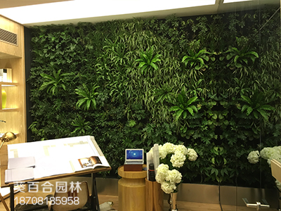 世豪金河谷室内植物墙