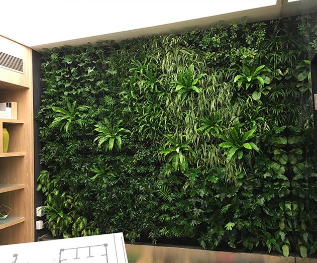 成都生态植物墙