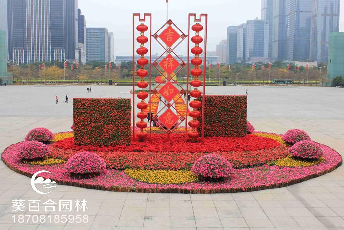 深圳市民中心景观墙